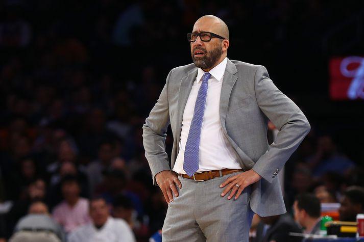 David Fizdale, fyrrverandi þjálfari New York Knicks.