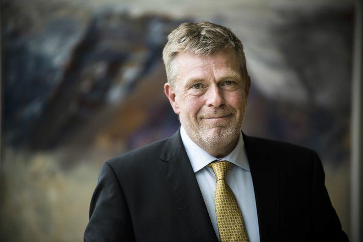 Höskuldur Ólafsson bankastjóri Arion banka.