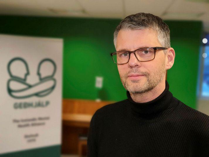 Grímur Atlason er framkvæmdastjóri Geðhjálpar.