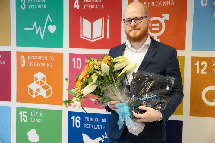Ævar Þór Benediktsson er fyrsti sendiherra UNICEF á Íslandi.