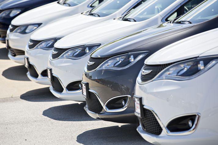 Fiat Chrysler er áttundi stærsti bílaframleiðandi heims.