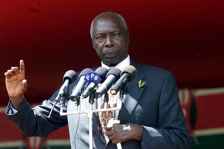 Daniel arap Moi gegndi embætti forseta Kenía um 24 ára skeið, frá 1978 til 2002.