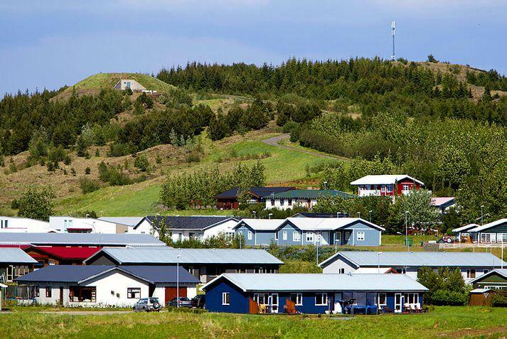 Margrét Runólfsdóttir, hóteleigandi, er bjartsýn á horfur ferðaþjónustunnar á Flúðum.