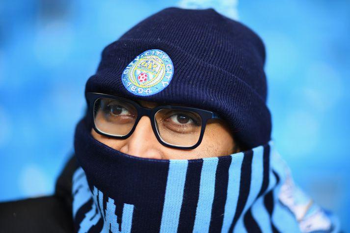 Ónefndur stuðningsmaður Manchester City. Hann tengist fréttinni ekki.