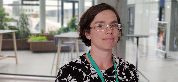 Kamilla Sigríður Jósefsdóttir er sérfræðingur á sóttvarnarsviði embættis landlæknis