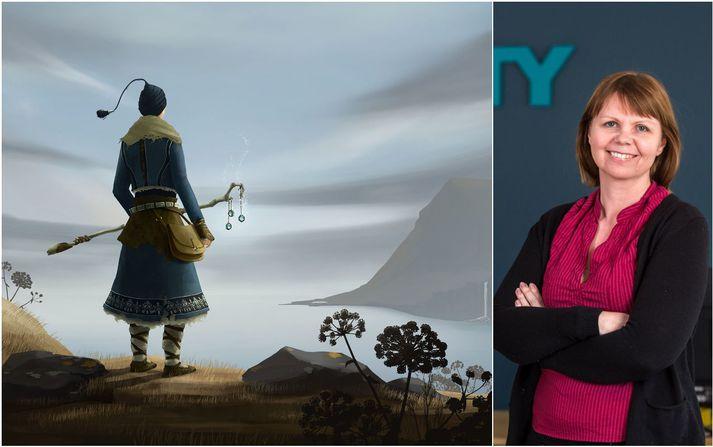 María Guðmundsdóttir vildi vera hreyfiafl breytinga þegar hún sneri aftur í tölvuleikjageirann.