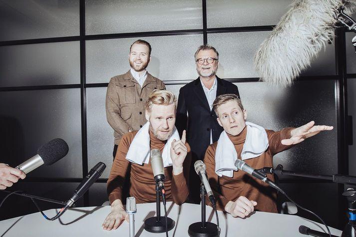 Baldvin Þormóðsson, Þormóður Jónsson, Arnar Ingi Viðarsson og Arnar Fells Gunnarsson.