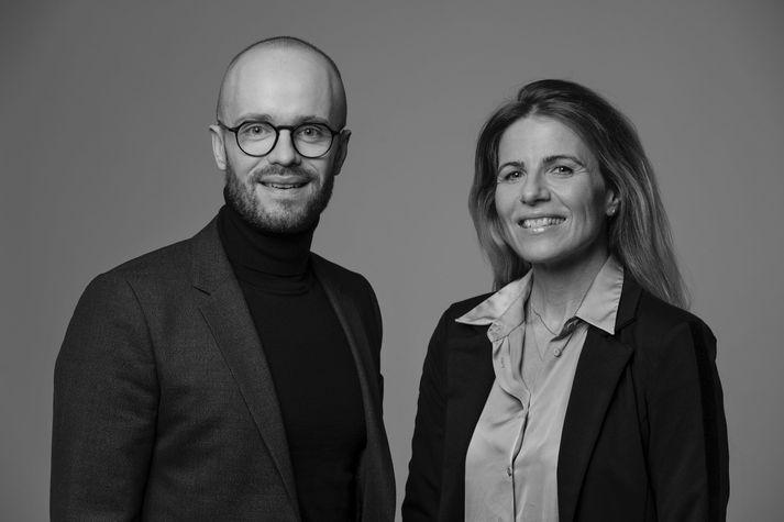 Guðmundur Kristján Jónsson og Gréta Björg Blængsdóttir.