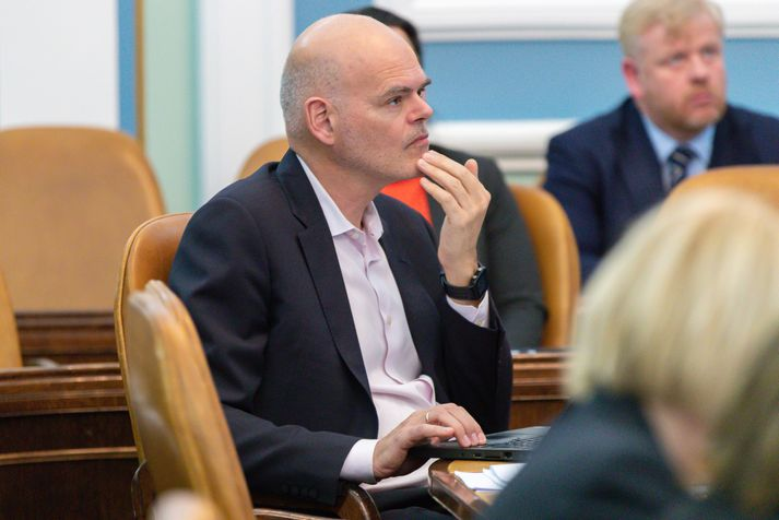 Ólafur Þór Gunnarsson ræddi stöðu hjúkrunarfræðinga í Sprengisandi í morgun.