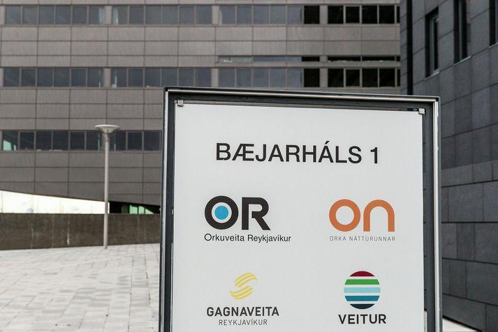Orkuveita Reykjavíkur að Bæjarhálsi 1.