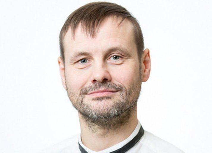 Haraldur F. Gíslason formaður félags leikskólakennara.