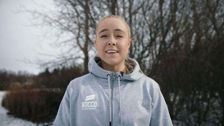 Jóhanna Júlía Júlíusdóttir CrossFit-kona.