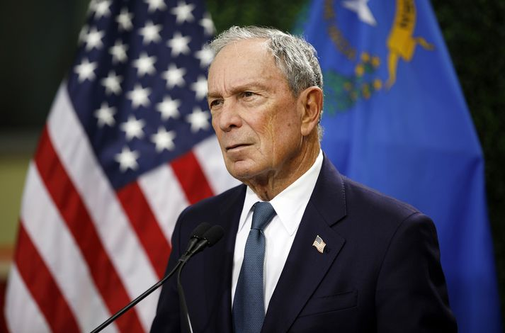 Michael Bloomberg, auðkýfingur og fyrrverandi borgarstjóri New York.