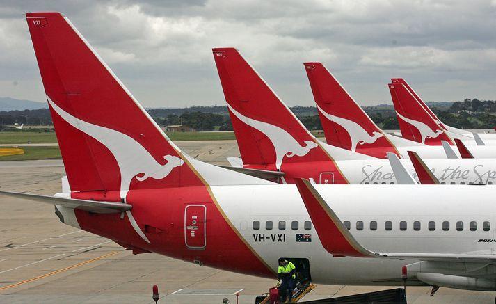Qantas er stærsta flugfélag Ástralíu.