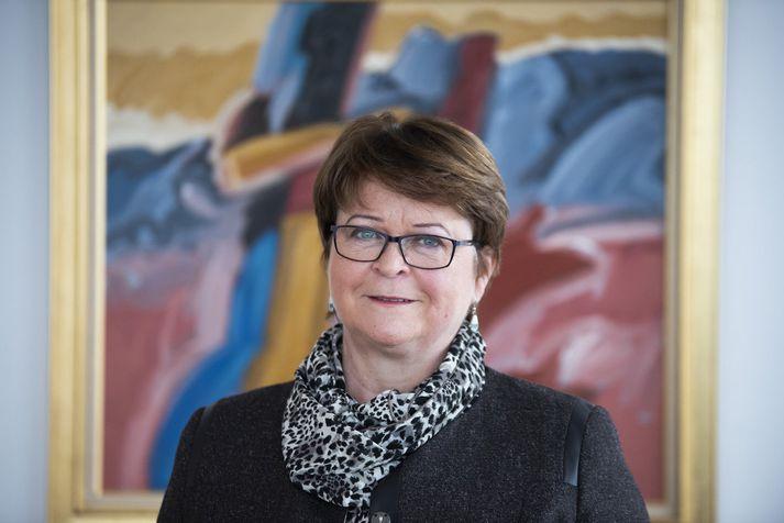 Unnur Gunnarsdóttir, forstjóri FME.