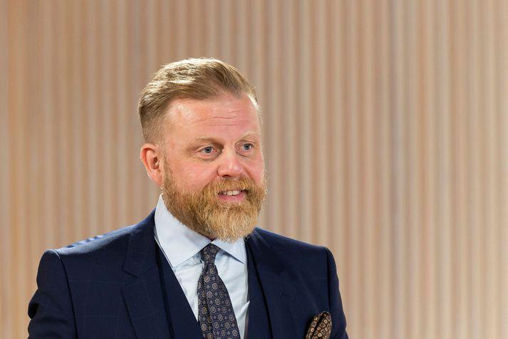 Ásgeir Jónsson er Seðlabankastjóri Íslands.