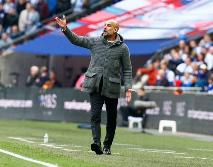 Sóknarleikur Manchester City undir stjórn Pep hefur verið hreint út sagt ótrúlegur.
