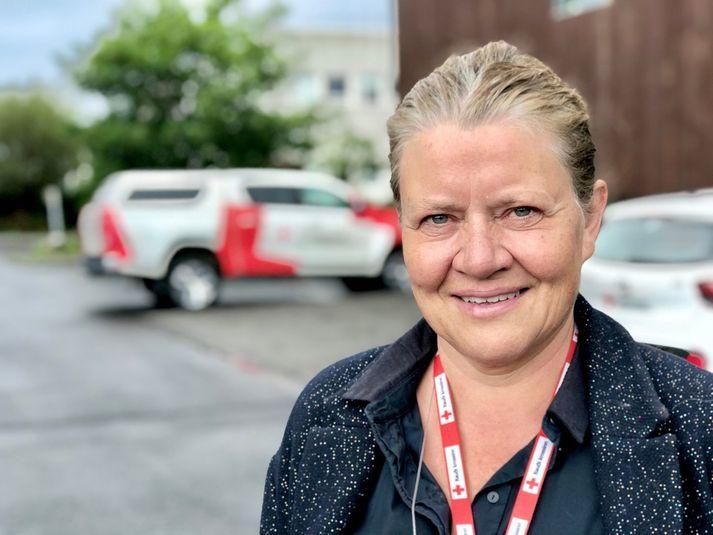 Kristín Hjálmtýsdóttir, framkvæmdastjóri Rauða krossins.