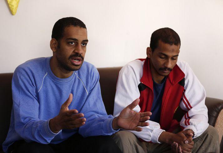 El Shafee Elsheikh og Alexanda Amon Kotey.