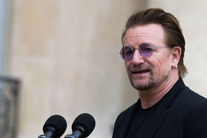 Nafn Paul Hewson, eða Bono eins og hann er betur þekktur, má finna í Paradískarskjölunum.