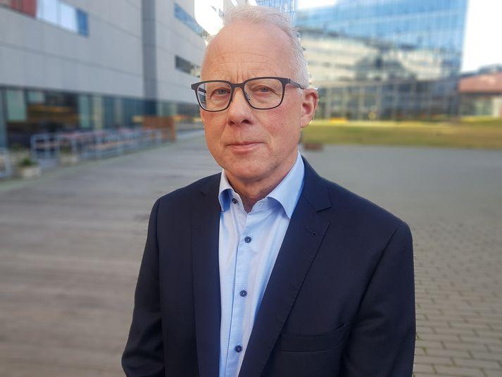 Haukur Arnþórsson stjórnsýslufræðingur og höfundur bókarinnar.