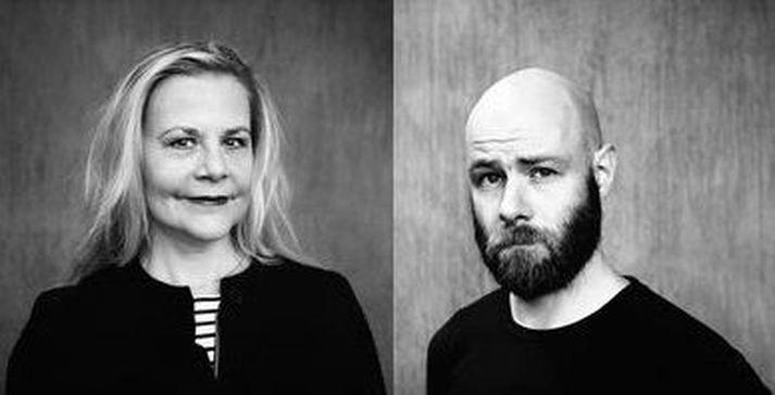 Sigrún Edda Björnsdóttir og Hjörtur Jóhann Jónsson.