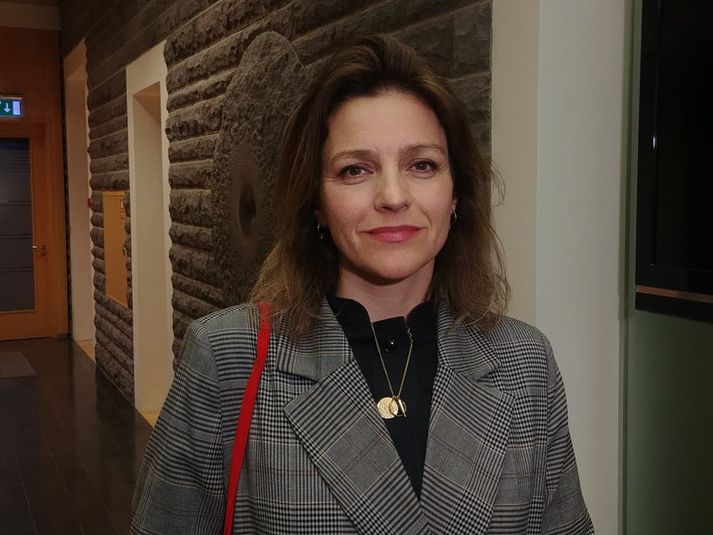 Rósa Björk Brynjólfsdóttir, þingmaður Vinstri hreyfingarinnar græns framboðs og varaformaður utanríkismálanefndar.