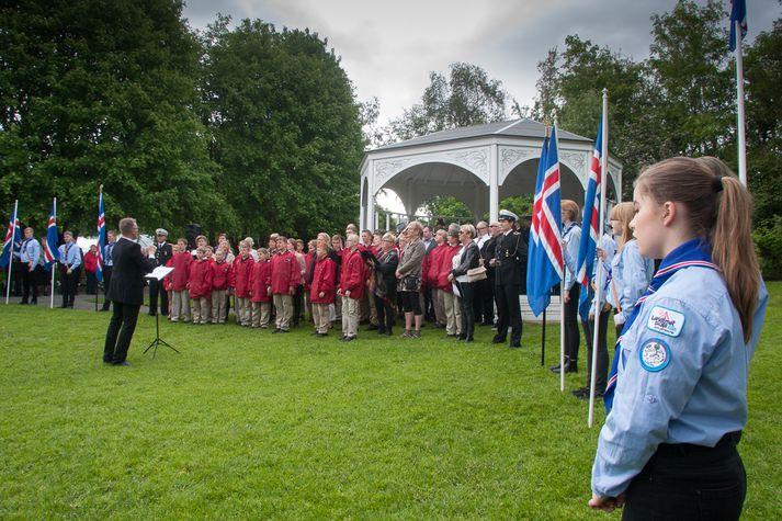 Það verður nóg að gera á Akureyri á morgun.