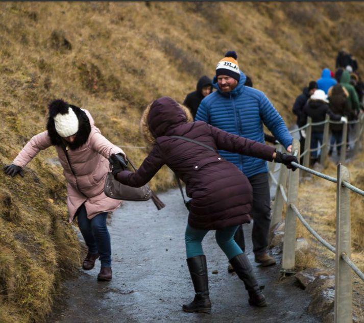 Áfangastaðaáætlun landshlutasamtaka er í uppnámi verði ekki brugðist við lækkandi fjárframlagi ríkis.