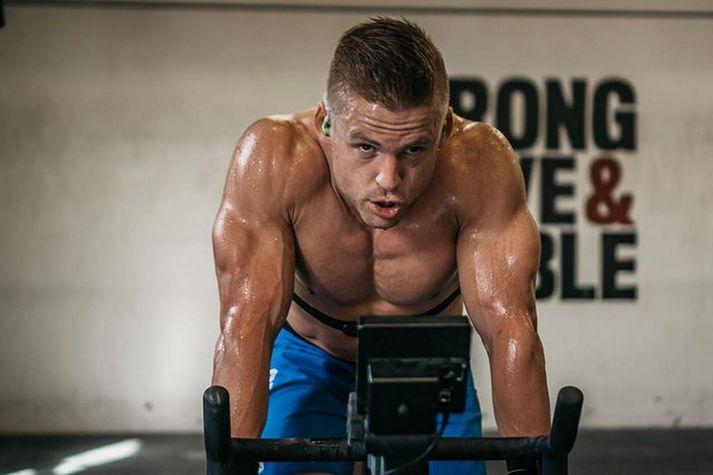 Danski CrossFit kappinn Frederik Ægidius er í flottu formi í ár.