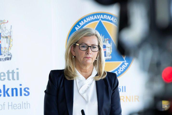 Alma Dagbjört Möller, landlæknir.