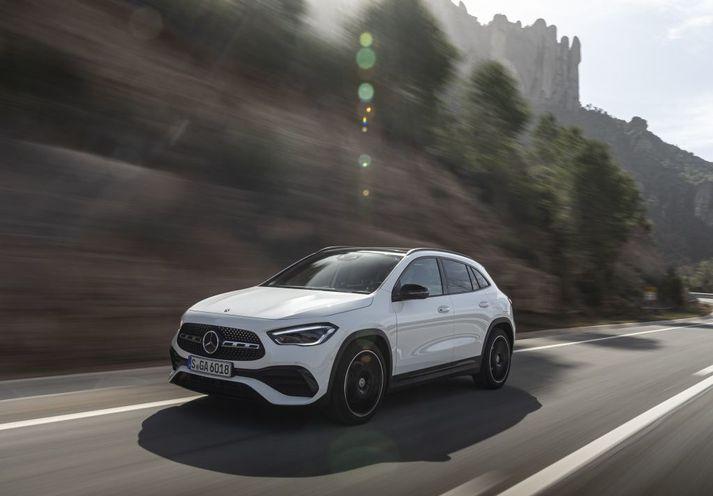 Nýr Mercedes-Benz GLA 2020
