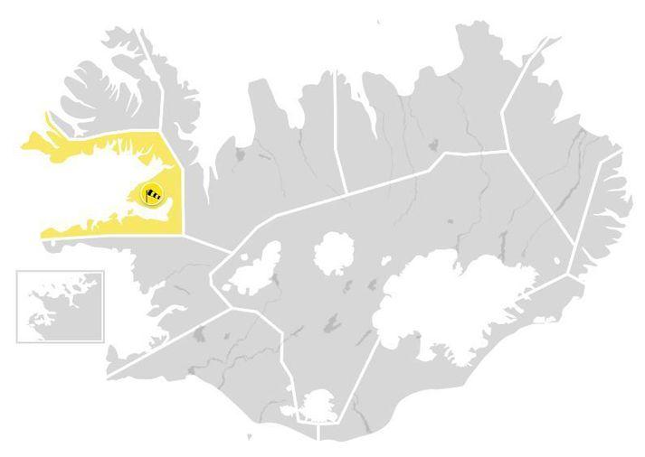 Viðvörun tekur gildi í fyrramálið.