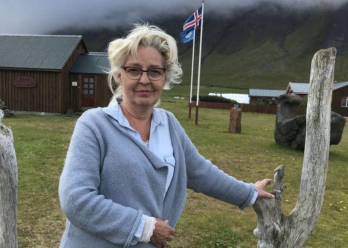 Helga Thorberg er sérfræðingur þegar kemur að blómaskreytingum og mikill náttúruunnandi.