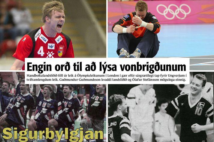 Ísland og Ungverjaland mætast í sextánda sinn á stórmóti í dag.