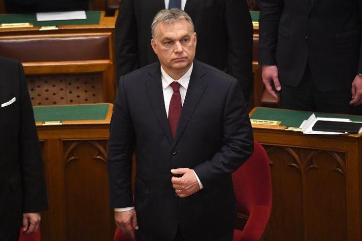 Viktor Orbán hefur gegnt embætti forsætisráðherra Ungverjalands frá árinu 2010.