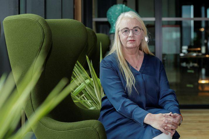 Erna Arnadóttir, VP of People hjá CCP.
