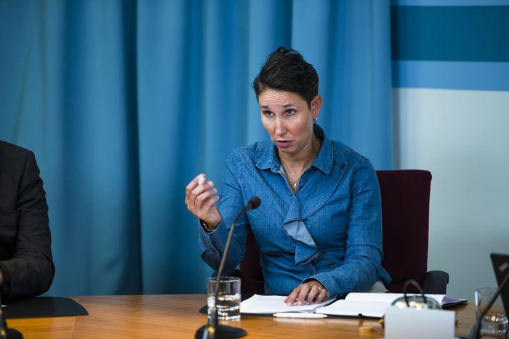 Nicole Leigh Mosty, þingkona Bjartrar framtíðar. Fréttablaðið/Ernir