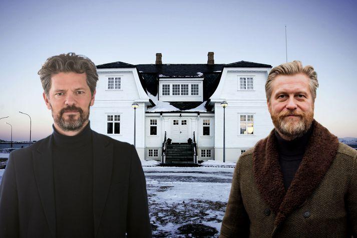 Eyþór Arnalds og Dagur B. Eggertsson ætla sér borgarstjórastólinn.