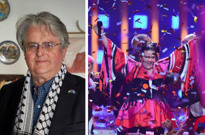 Sveinn Rúnar Hauksson fyrrum formaður félagsins Ísland-Palestína segir