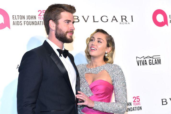 Liam Hemsworth og Miley Cyrus kynntust árið 2009.