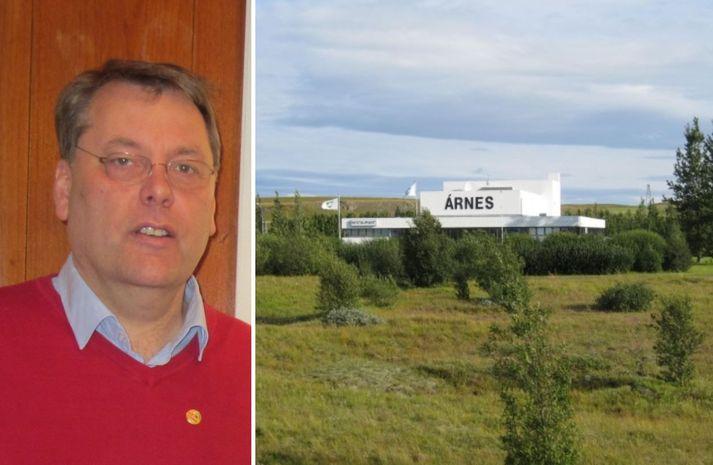 Kristófer Tómasson tók við starfi sveitarstjóra í Skeiða- og Gnúpverjahreppi árið 2012.