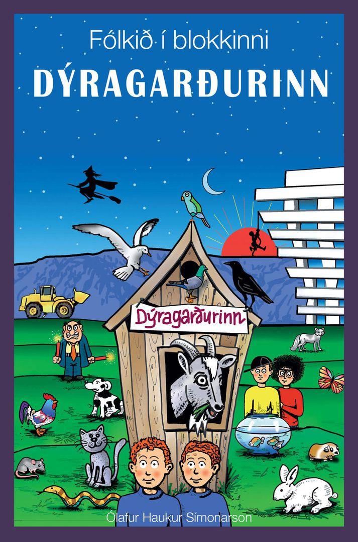Fólkið í blokkinni: Dýragarðurinn - kápa