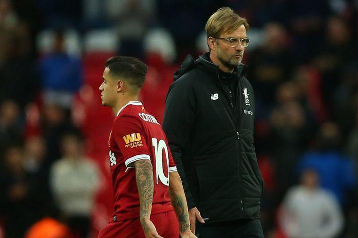 Philippe Coutinho hlustaði ekki á Jürgen Klopp og vildi fara frá Liverpool. Hann sér eftir því í dag.