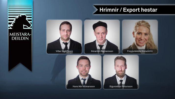 Lið Hrímnis/Export hesta.