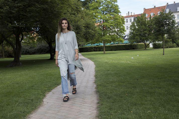 Thelma Björk Steimann er barnsmóðir og fyrrverandi kærasta Hafþórs Júlíusar Björnssonar, Fjallsins.