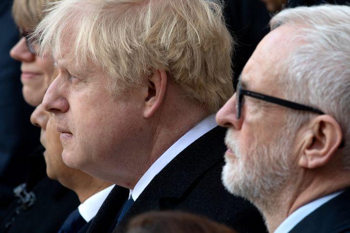 Corbyn og Johnson mættust í kappræðum BBC