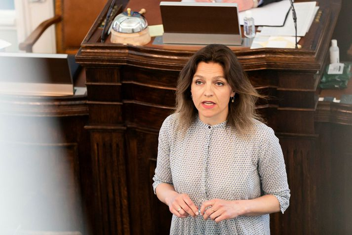 Rósa Björk Brynjólfsdóttir, þingmaður VG, er varaformaður utanríkismálanefndar Alþingis.