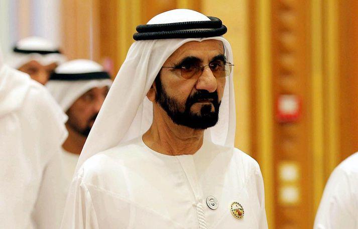 Sjeikinn Mohammed bin Rashid Al Maktoum, faðir Latifu, er einn auðugasti ríkishöfðingi heimsins.