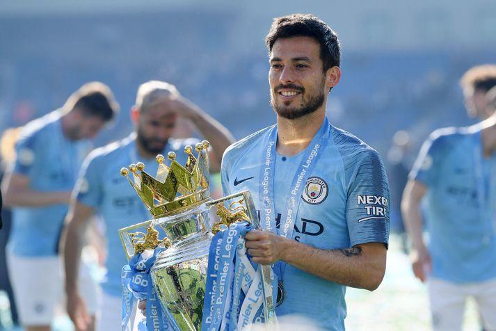 David Silva hefur unnið nánast allt með Manchester City nema Meistaradeildina. Hann hefur unnið ensku deildina fjórum sinnum.